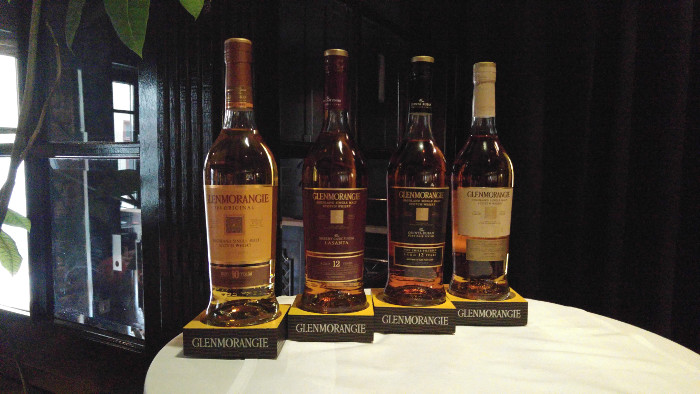 Whiskydrink Glenmorangie sortiment