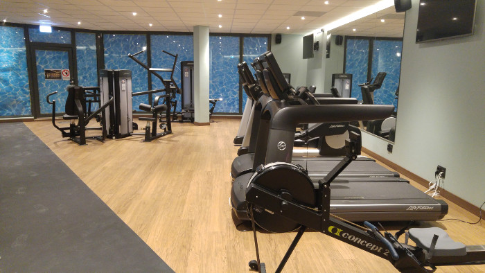 Hotell i Solna Ac by Marriott Ulriksdal gym