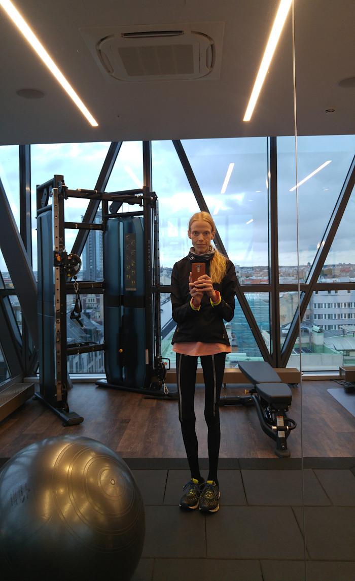 Hotell i Riga AC by Marriott gym Johanna