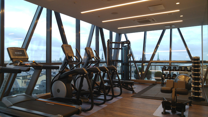Hotell i Riga AC by Marriott gym