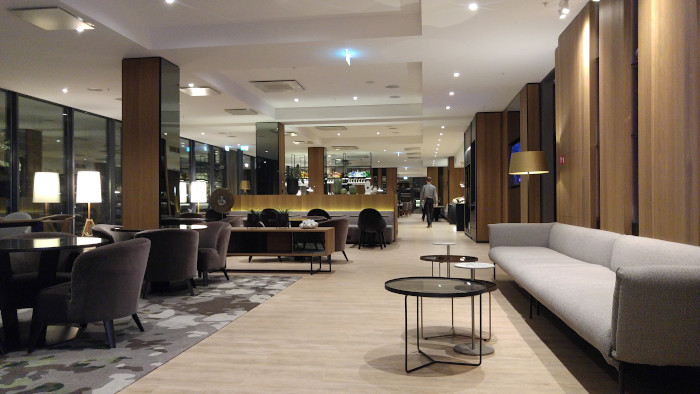Hotell i Riga AC by Marriott lounge