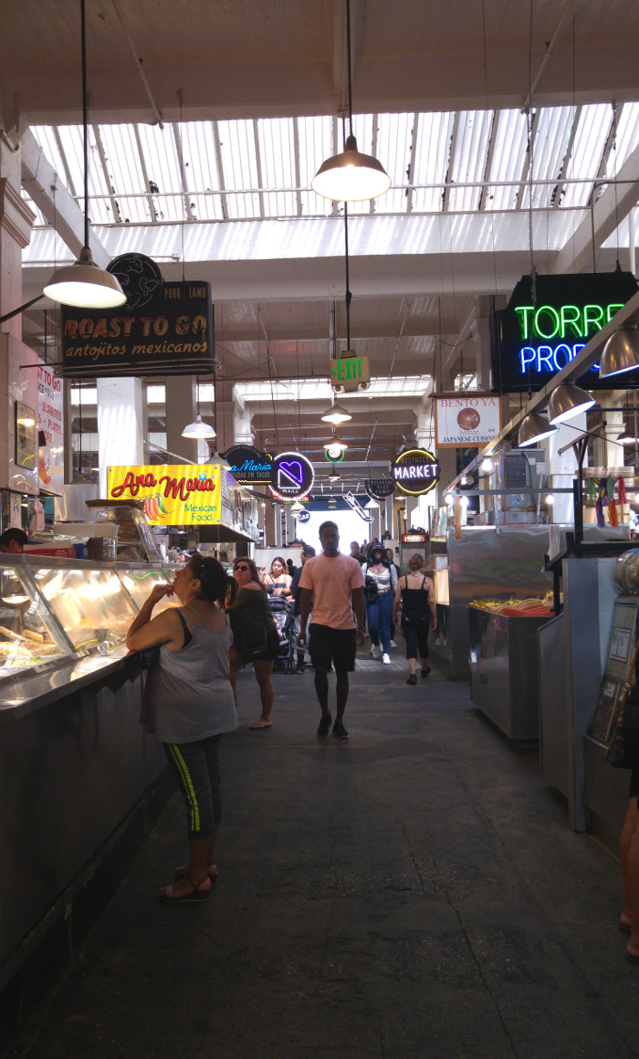 Los Angeles Downtown Grand Central Market 1